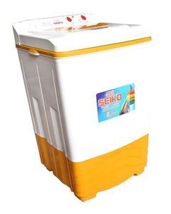 SK 9200-Semi automatic washing machine-white&yellow colour-pure copper