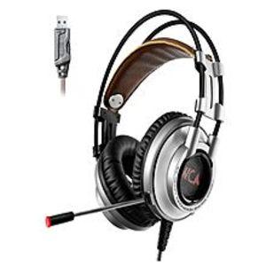 XiberiaK 9 Usb Gaming Headphones With Microphone