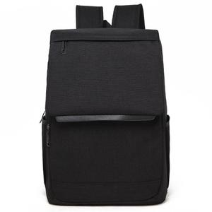 Universal Multi-Function Canvas Laptop Computer Shoulders Bag Leisurely Backpack Students Bag, Size: 42x30x12cm, For 15.6 inch and Below Macbook, Samsung, Lenovo, Sony, DELL Alienware, CHUWI, ASUS, HP(Black)