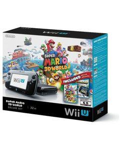 Nintendo  WII U with Super Mario 3D World – NTSC – Black