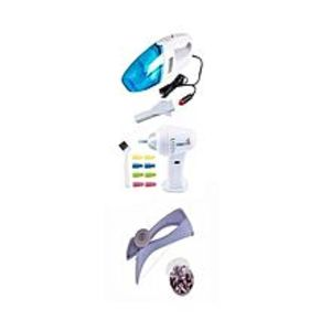 TOP CHOICETop Choice Pack Of 3 - Car Vacuum - Wax Vac Ear Cleaner - Slique Threading Machine
