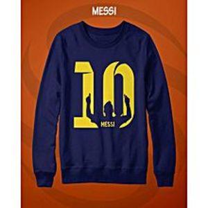 SASCO FashionsBlue Fleece Cotton Printed Sweatshirt