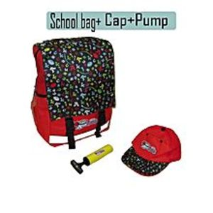 Deals Mart Australian School Bag Imported Plus Matching Head Cap