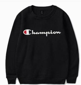 CHAMPION Printed Black Sweatshirt