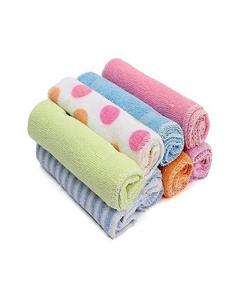 Pack Of 12 Baby Towel In Multicolor