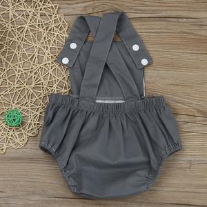 Perfect Meet new authentic warm Korean version of handsome Newborn Infant Baby Boy Girl Cotton Romper Jumpsuit Sunsuit Kids Clothes Outfit