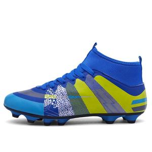 ab85283f06b4 High Ankle Football Boots Superfly Original Falcons Knitted FG Nail Football  Shoes Adulto Men s Soccer Shoes