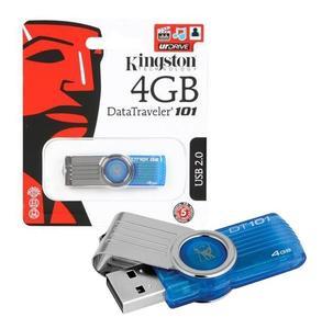 Kingston USB 2.0 Data Traveler 4 GB Flash Drive