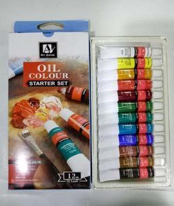 Art Nation Oil Colour - Pack Of 12