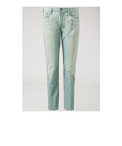 Super Light Blue Color Faded Jeans For Men-