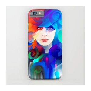 Beautiful Girl Face Art Printed Mobile Cover (Samsung S7)