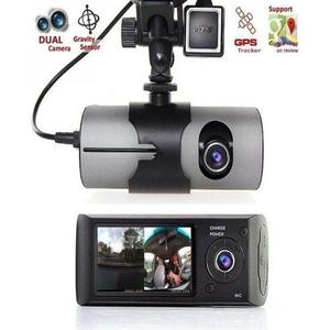 Car DVR Camera Video Recorder Dash Cam G-Sensor Dual Lens