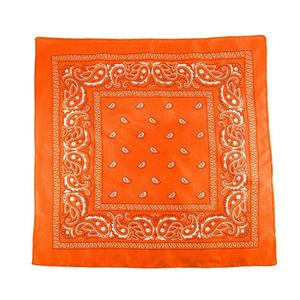 Square Scarf Women Flower Printed Head Foulard Print Neckerchief Shawl