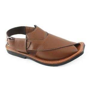 Mens Peshawari Sandal 1132 - Mustard Color