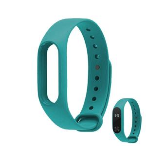Replacement TPU Wrist Band for Xiaomi MI Band 2 - Cyan