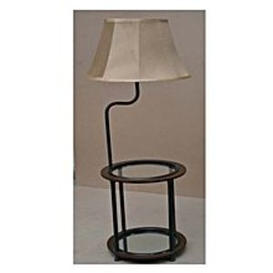 sasta pk Floor Lamp with Built-in Two-Tier Table with Open Display Space