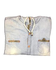 Denim Hoodie Shirt For Boys (18 Years To 21 Years)