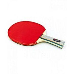 ButterflyWAKABA-15280 - Table Tennis Racket - Red & Black