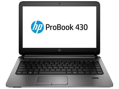 "HP ProBook 430 G2 with Free Laptop Bag - 13.3"" - Core i3 5210U - 4 GB RAM - 320 GB HDD"