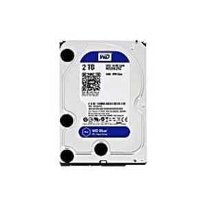 WDBlue 2TB Desktop Hard Disk Drive - SATA 6 Gb/s 64MB Cache 3.5 Inch - WD20EZRZ