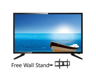 Nobel - Slim FHD LED Tv - 32 inches - 1920x1080 - Black With Free Wall Stand