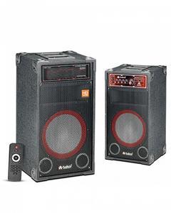 Audionic Classic BT- 210 - 2.0 Channel Speaker - Black
