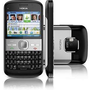 Nokia E5 - Black - 1 Year Warranty