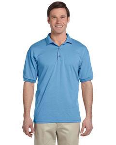 Light Blue Cotton Sports Polo Shirt For Men