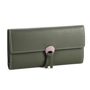 Multicolour Synthetic Leather Wallet For Women