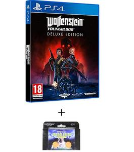 PLAYSTATION 4 Wolfenstein Youngblood Deluxe Edition PS4 GAME PLUS KONTROL FREEK
