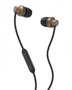 S2TTDY-214 - Titan Earphones with Mic - Copper and Black