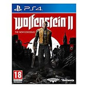 Sony PLAYSTATION 4 DVD Wolfenstein II: The New Colossus PS4 GAME