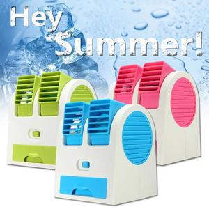 Mini Perfume Cooling Fan is a Mini Portable Air Conditioner Cooler Fan - Usb Pin - Battery Operated