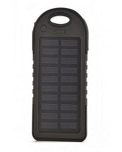 Solar Power Bank Charger 10000 mAh - Black