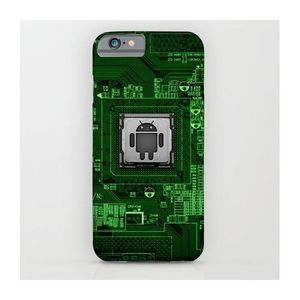 Android Circuit Printed Cover Case (Samsung S7)
