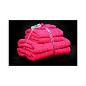 AKTIAlkaram Towel 6 - Piece Towel Set - Pink