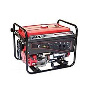 HOMAGEHGR - 1 KV Petrol Generator 1.0 KVA - Red