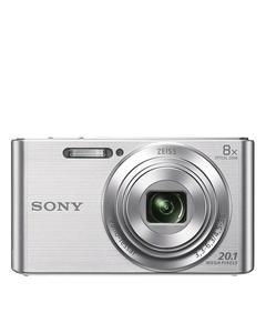 DSCW830 - 2.7 inch LCD - 20.1 MP Digital Camera - 8x Optical Zoom - Silver