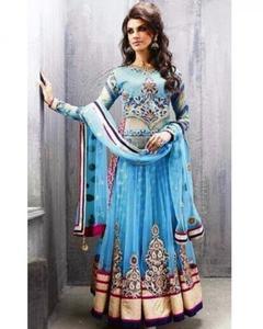 Zoya Blue Designer Georgette Party Wear Dress