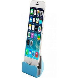 Charger Dock Station Stand For Iphone - Blue