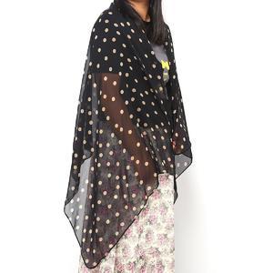 Fashion Charming Beautiful Warm Beige Polka Dot Scarf Shawl