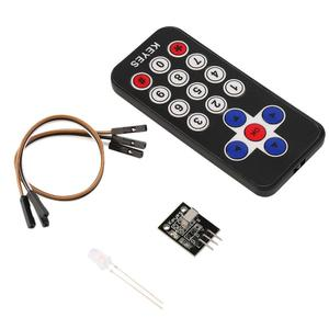 New Infrared IR Wireless Remote Control Receiver Module Kit for Arduino
