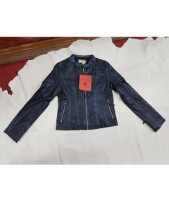 Ladies leather jacket 100% pure leather