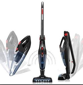 DEIK Deiik 2 in 1 Cordless Vacuum Cleaner - Black