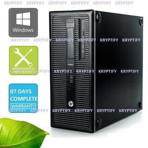 HP ProDesk ELITEDESK G1 600 TOWER PROFESSIONAL PC Intel Core i5 4570 4TH GENERATION 3.2GHz 8GB RAM 500GB HARD DISK REFURBISHED