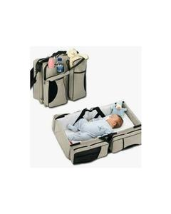Pack of 2 - Baby Portable Cot And Diaper Bag