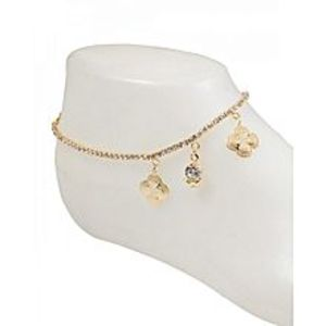 The Marshall Golden Modern Anklet for Women