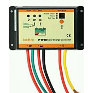EP Solar 10A solar Charge controller IP66 waterproof dual timer control with light control 12V 24V