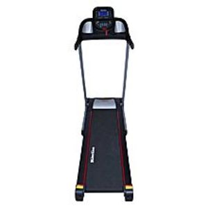 Slim Line GHK2403 - Motorized Treadmill with Manual Incline - 2.0 HP - Black & Grey