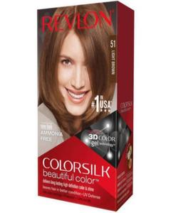 Color Silk 3D Technology USA For Men and Women No 51 Light Brown